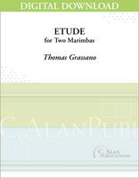 Etude for Two Marimbas - [DIGITAL]