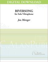 Riversong (Solo 4-Mallet Vibraphone) [DIGITAL}