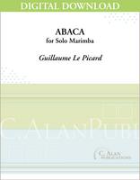 Abaca (Solo 4-Mallet Marimba) [DIGITAL]