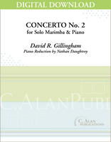 Concerto No. 2 for Marimba & Piano [DIGITAL]