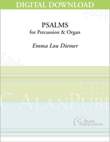 Psalms for Percussion & Organ [DIGITAL]