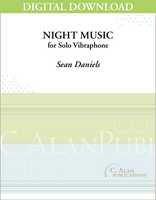 Night Music (Solo 4-Mallet Vibraphone) [DIGITAL]