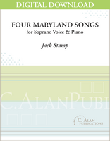 Four Maryland Songs (piano reduction) [DIGITAL]