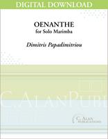 Oenanthe (Solo 4-Mallet Marimba) [DIGITAL]