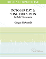 October Day/Song for Simon (Solo 4-Mallet Vibraphone) [DIGITAL]