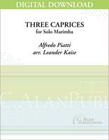 Three Caprices (Alfredo Piatti) [DIGITAL]