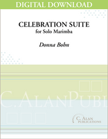 Celebration Suite (Solo 4-Mallet Marimba) [DIGITAL]
