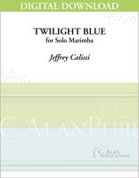 Twilight Blue (Solo 4-Mallet Marimba) [DIGITAL]