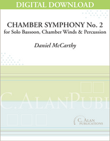 Chamber Symphony No. 2 for Bassoon [DIGITAL]