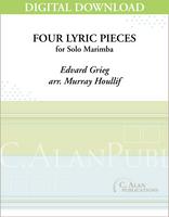 Four Lyric Pieces (Grieg) [DIGITAL]