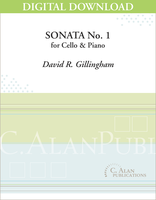 Sonata No. 1 for Cello [DIGITAL]