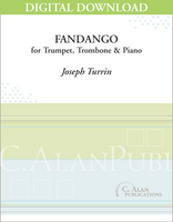 Fandango (piano reduction) [DIGITAL]