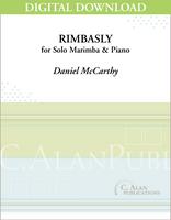 Rimbasly (Solo 4-Mallet Marimba + Piano) [DIGITAL]