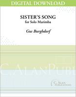 Sister's Song (Solo 4-Mallet Marimba) [DIGITAL]