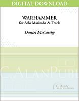 WarHammer (Solo 4-Mallet Marimba + Track) [DIGITAL]