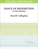 Dance of Redemption (Solo 4-Mallet Marimba) [DIGITAL]