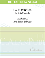 La Llorona (Solo 4-Mallet Marimba/Vibraphone) [DIGITAL]