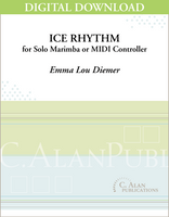 Ice Rhythm (Solo 4-Mallet Marimba) [DIGITAL]