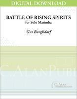 Battle of Rising Spirits (Solo 4-Mallet Marimba) [DIGITAL]