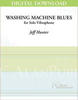 Washing Machine Blues (Solo 4-Mallet Vibraphone) [DIGITAL]