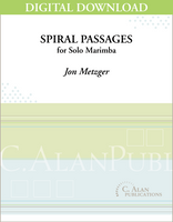 Spiral Passages (Solo 4-Mallet Marimba) [DIGITAL]