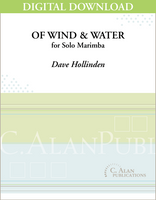 Of Wind and Water (Solo 4-Mallet Marimba) [DIGITAL]