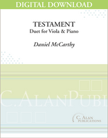 Testament [DIGITAL]