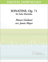 Sonatine, Op. 71 (Giuliani) [DIGITAL]