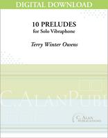 Ten Preludes for Vibraphone [DIGITAL]