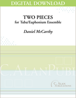 Two Pieces for Tuba Ensemble [DIGITAL]