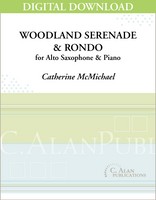 Woodland Serenade and Rondo (piano reduction) [DIGITAL]