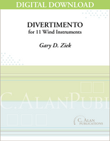 Divertimento for 11 Wind Instruments [DIGITAL]
