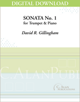 Sonata No. 1 for Trumpet [DIGITAL]