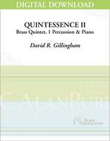 Quintessence II (piano reduction) [DIGITAL]