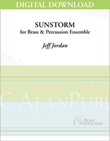 Sunstorm (Brass ensemble) [DIGITAL]