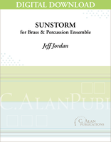 Sunstorm (Brass ensemble) [DIGITAL]