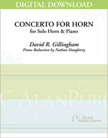 Concerto for Horn (piano reduction) [DIGITAL]