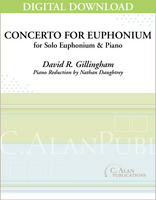 Concerto for Euphonium (piano reduction) [DIGITAL]