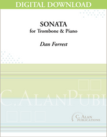 Sonata for Trombone and Piano [DIGITAL]