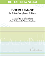 Double Image (piano reduction) [DIGITAL]