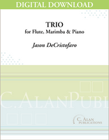 Trio for Flute, Marimba, & Piano [DIGITAL]