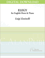 Elegy for English Horn & Piano [DIGITAL]
