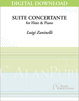 Suite Concertante for Flute & Piano [DIGITAL]