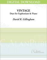 Vintage (piano reduction) [DIGITAL]