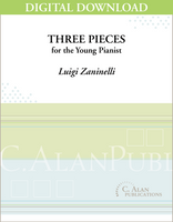 Three Pieces for the Young Pianist [DIGITAL]