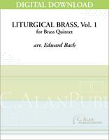 Liturgical Brass, Vol. 1 [DIGITAL]