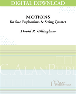 Motions for Euphonium & String Quartet [DIGITAL]