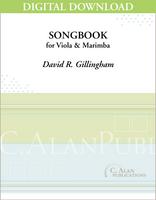 Songbook for Viola & Marimba [DIGITAL]
