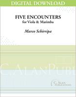 Five Encounters for Viola & Marimba [DIGITAL]