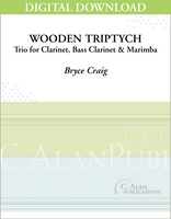 Wooden Triptych [DIGITAL]